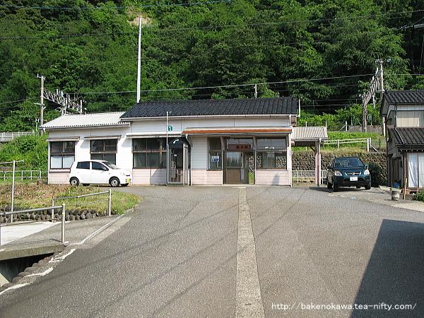 浦本駅駅舎