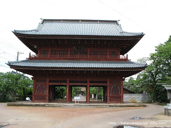 本成寺正門