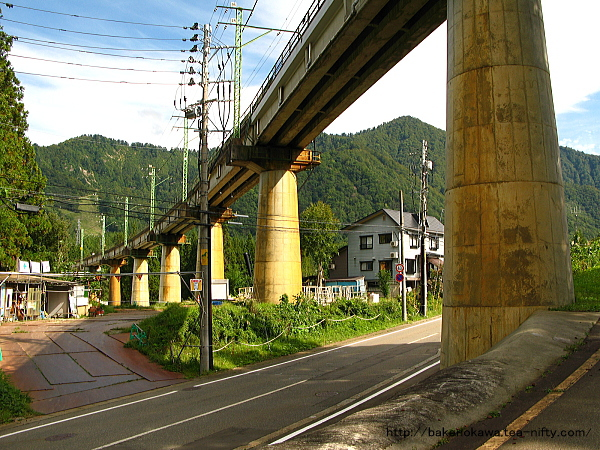 上越線の橋脚