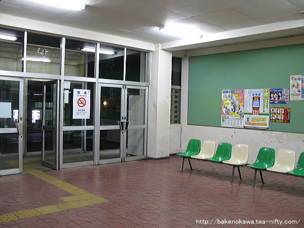 岩室駅駅舎内部その2