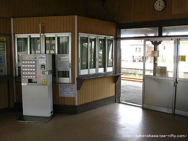 谷浜駅駅舎内部その1