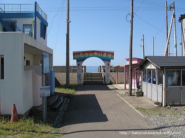 谷浜海水浴場その1