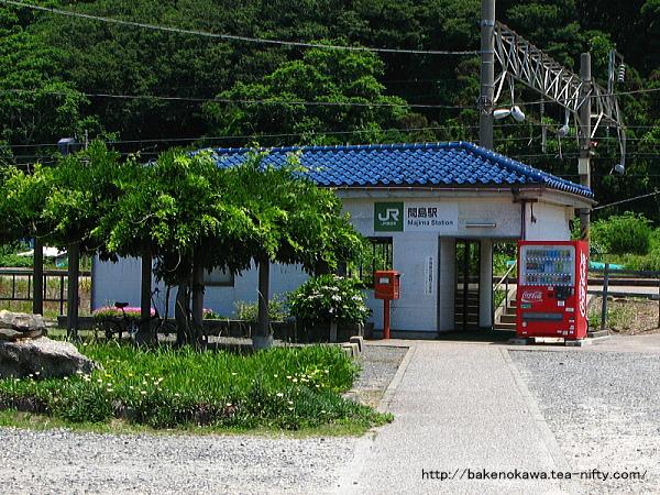 間島駅駅舎の二