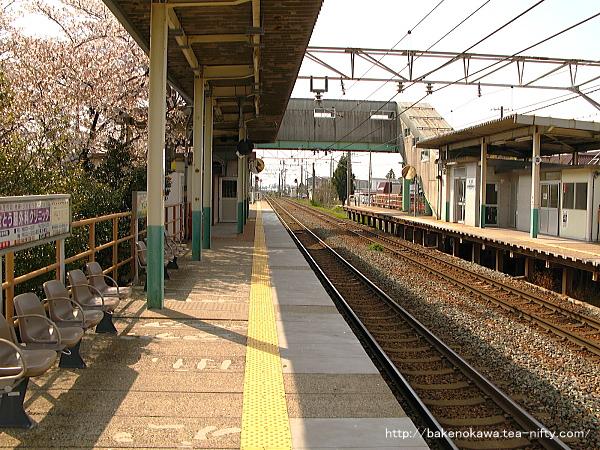 早通駅の1番ホームその3