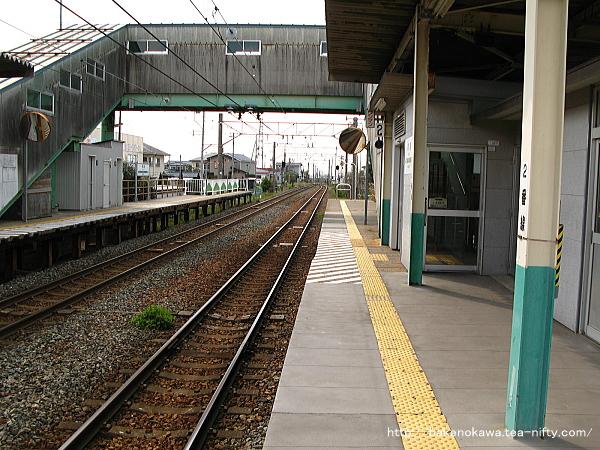 早通駅の2番ホームその2