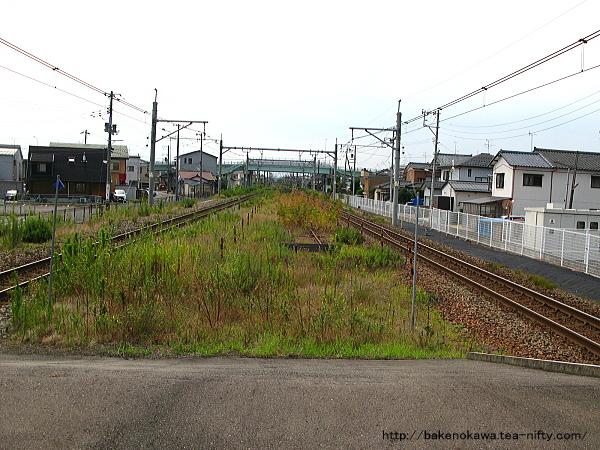亀田駅の島式ホームその5