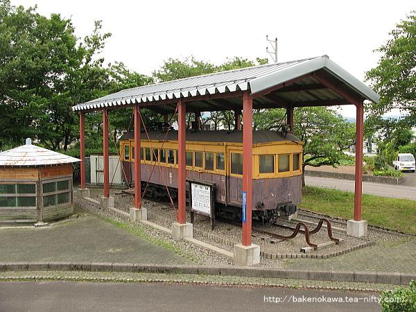 蒲原鉄道の電車モハ11その1