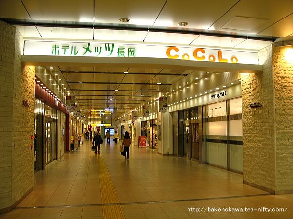 駅舎内の商業施設「CoCoLo」