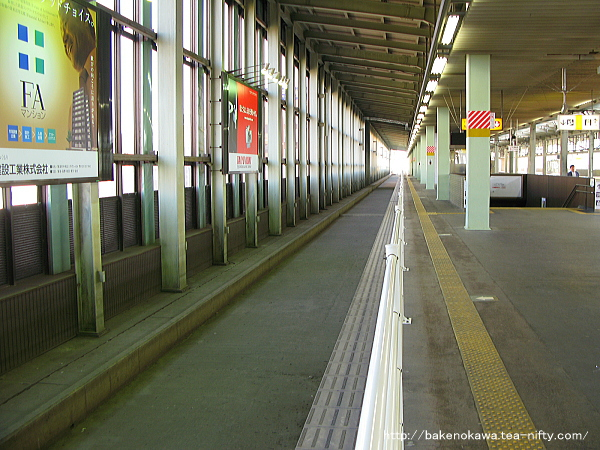 羽越新幹線用ホーム予定地