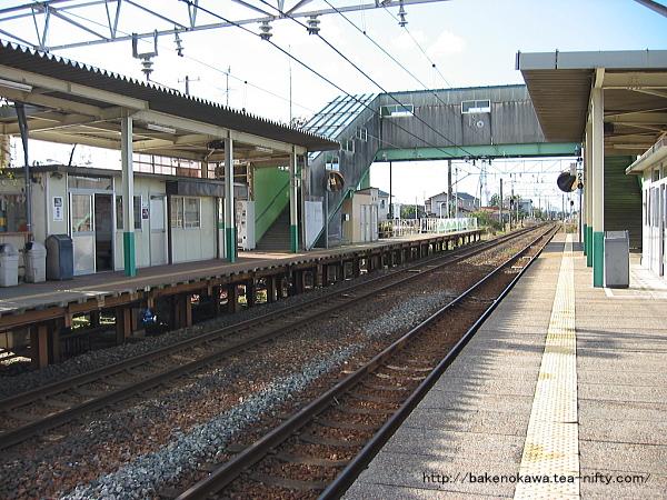 早通駅の2番ホームその3