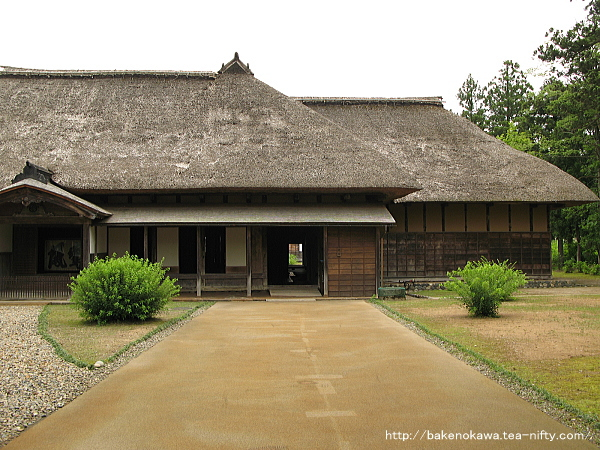長谷川邸の主屋