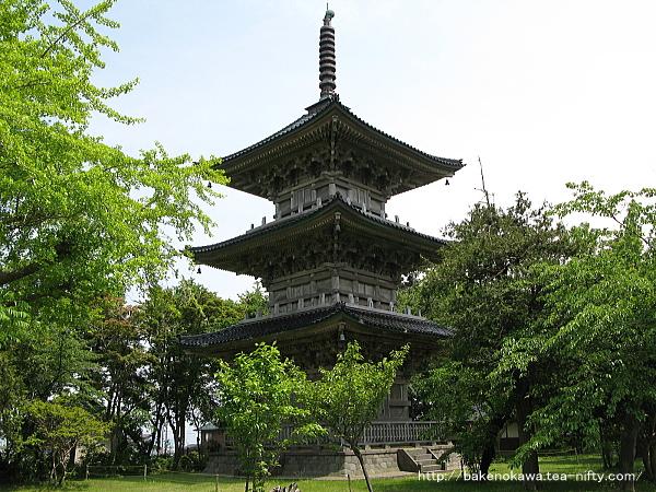 五智国分寺の三重塔