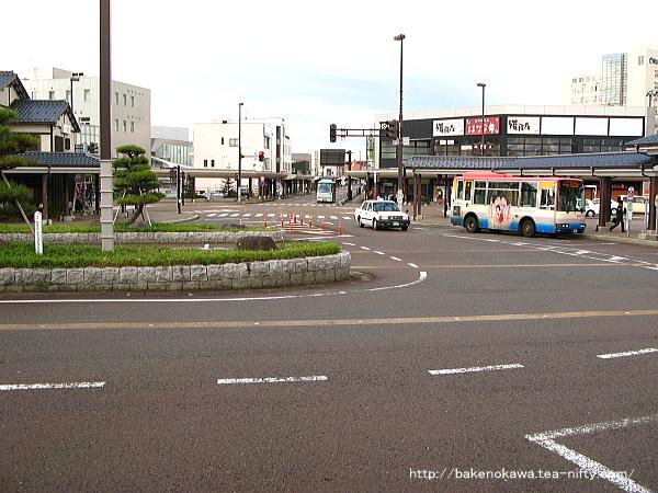 新発田駅前ロータリーその二