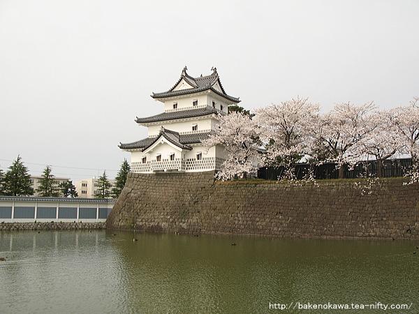 新発田城の三階櫓