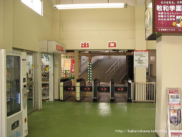 白山駅旧駅舎内部その2