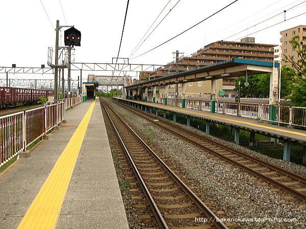 東新潟駅の2番線その1