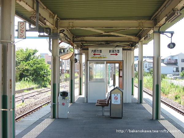 関屋駅の旧構内その2