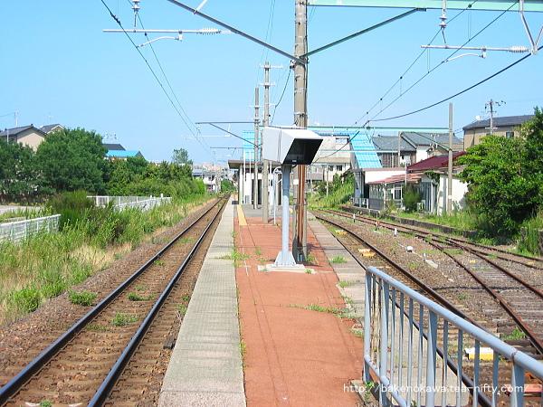 関屋駅の旧構内その3