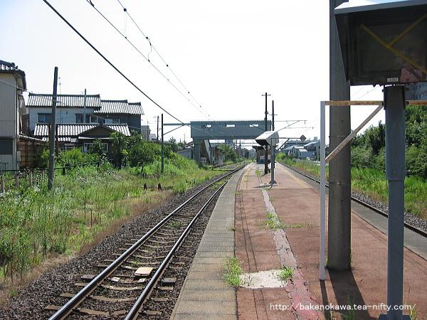 関屋駅の旧構内その5