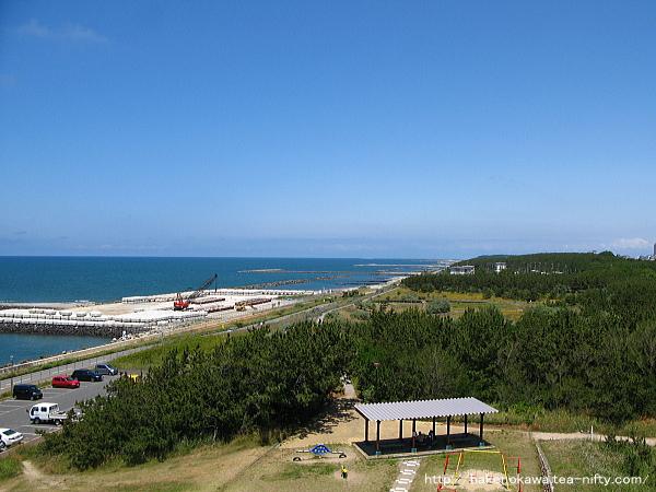 展望台から見た関屋浜その2