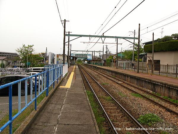 小針駅の1番線その1