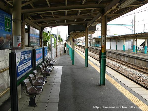 小針駅の2番線その2
