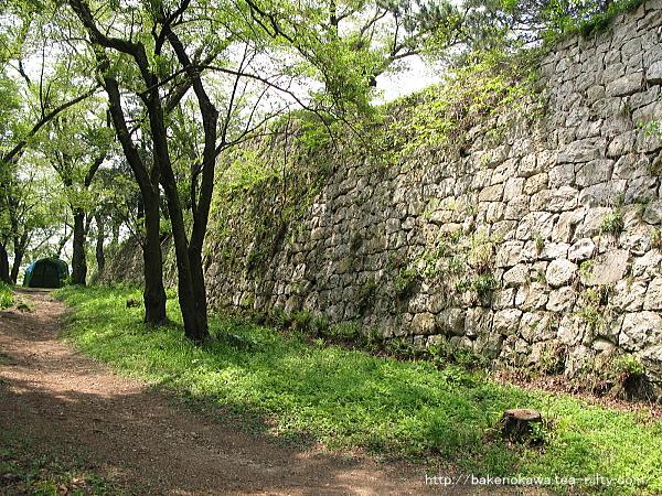 村上城跡の石垣