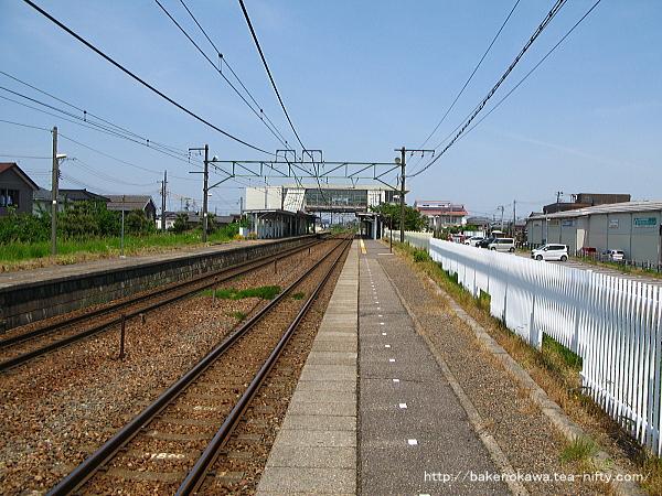荻川駅の1番線その1