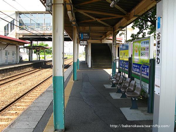 荻川駅の1番線その3