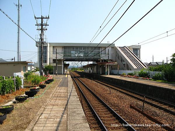 荻川駅の1番線その6