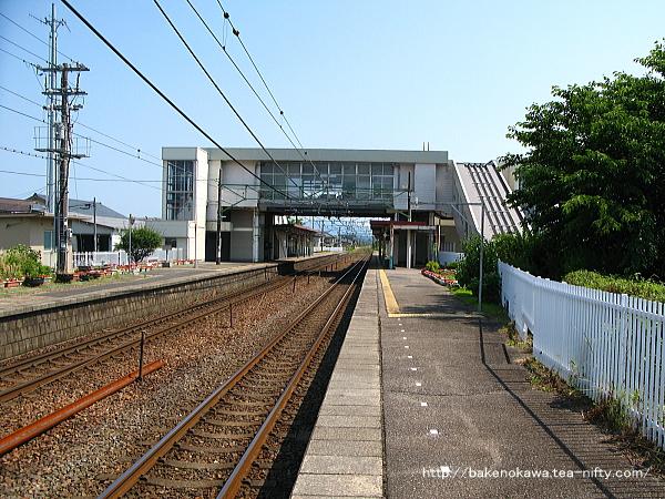 荻川駅の2番線その1