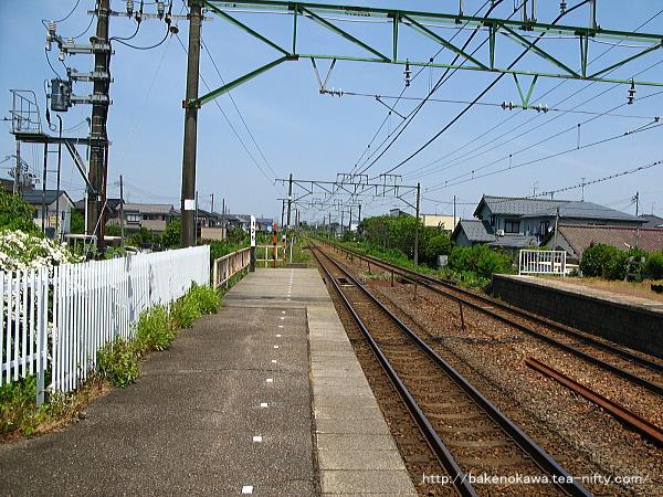 荻川駅の2番線その3