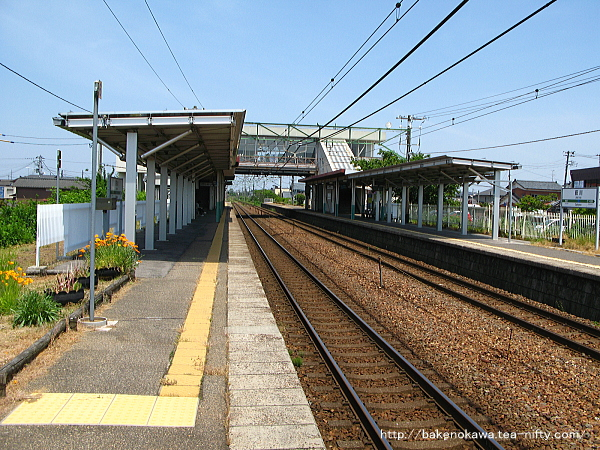 荻川駅の2番線その7