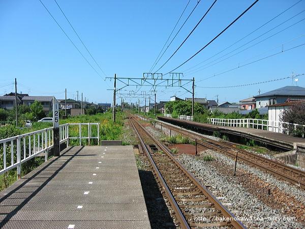 荻川駅の2番線その4