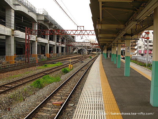 新潟駅の8-9番島式ホームその1