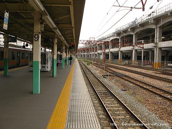新潟駅の8-9番島式ホームその4