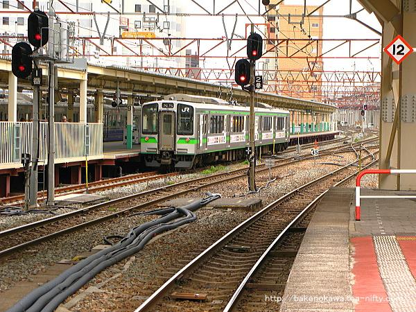 新潟駅の2-3番島式ホームその7
