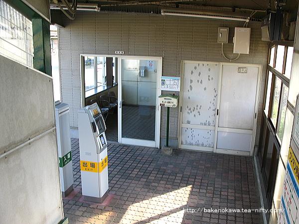 月岡駅駅舎内部の様子その5