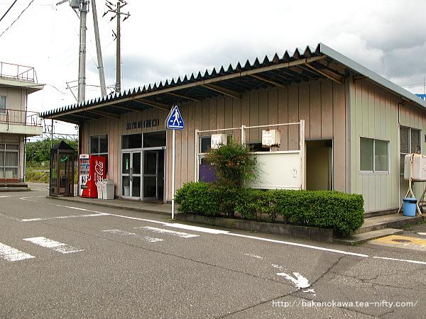 加茂駅西口駅舎