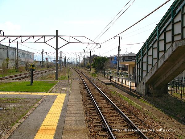 岩船町駅構内その6