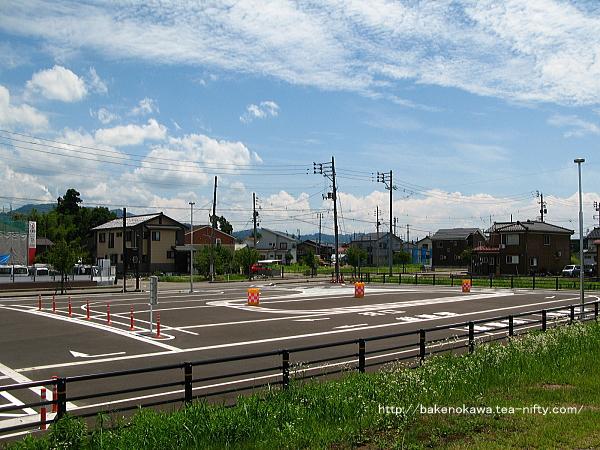 駅前ロータリー整備後の前川駅その3